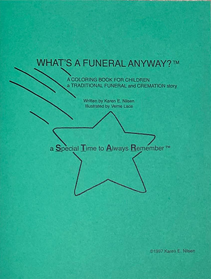 Additional Children's Packets – Traditional Funeral and Cremation Story